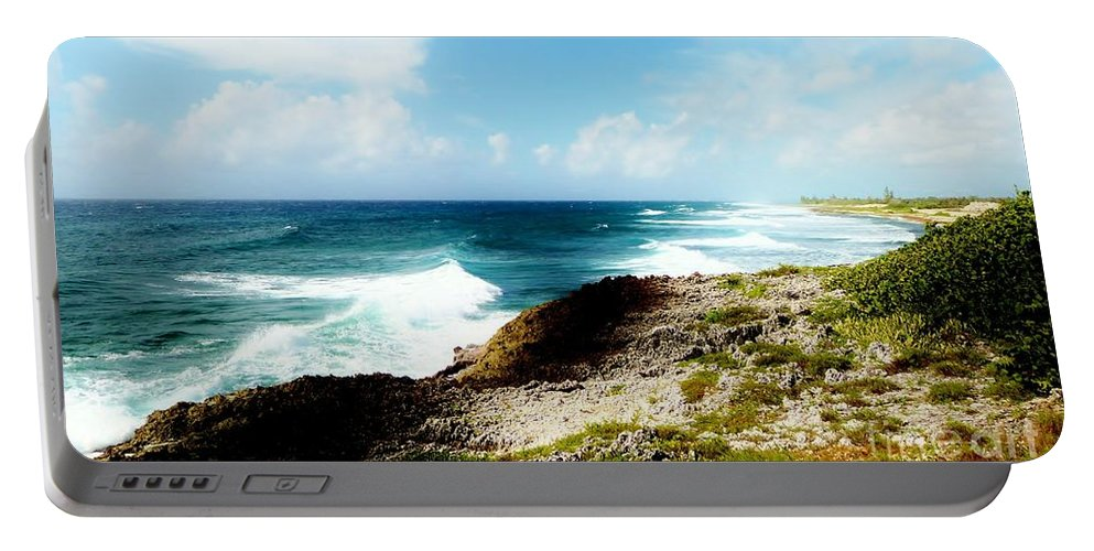 Amar Sheow Fine Art Photography Portable Battery Charger featuring the photograph Diorama by Amar Sheow