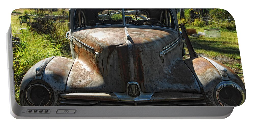 Car Portable Battery Charger featuring the photograph Discarded Love by Donna Blackhall