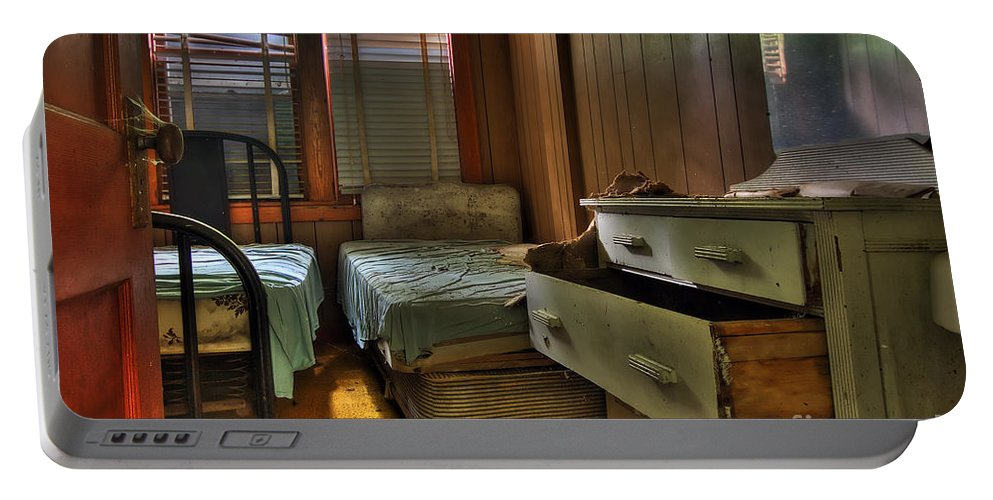 Borscht Belt Portable Battery Charger featuring the photograph Do Not Disturb by Rick Kuperberg Sr