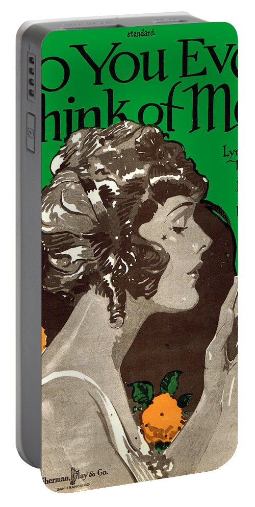 Nostalgia Portable Battery Charger featuring the photograph Do You Ever Think Of Me by Mel Thompson