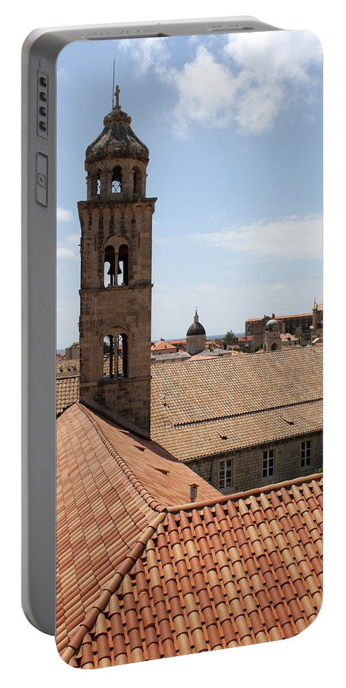 Dubrovnik Portable Battery Charger featuring the photograph Dominican Monastery by David Nicholls