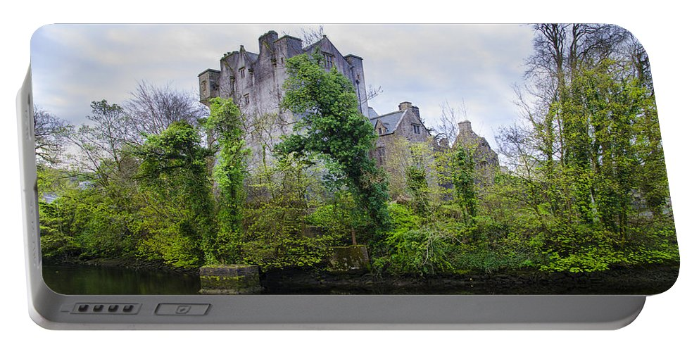 Donegal Portable Battery Charger featuring the photograph Donegal Castle In Donegaltown Ireland by Bill Cannon