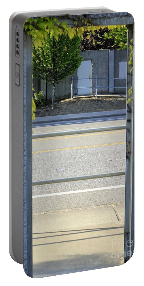 Door Portable Battery Charger featuring the photograph Door After A Doorway by Lee Serenethos