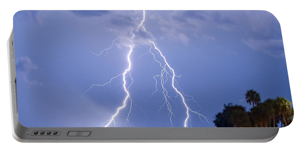 Florida Portable Battery Charger featuring the photograph Double Trouble by Stephen Whalen