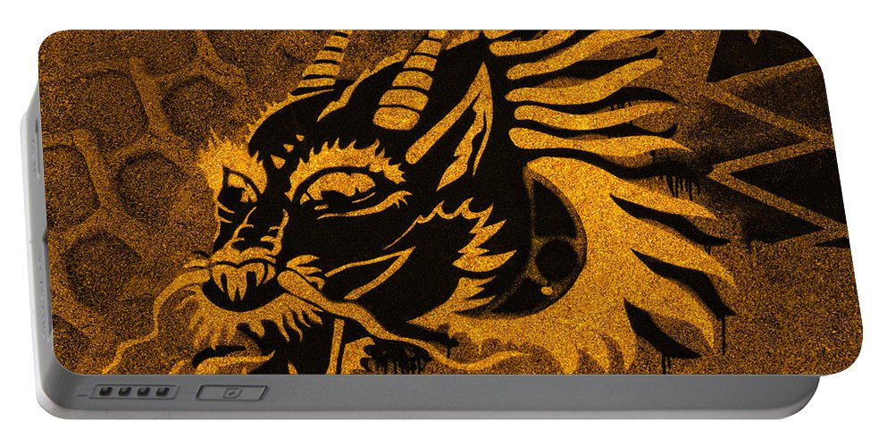 Ancient Portable Battery Charger featuring the photograph Dragon by TouTouke A Y