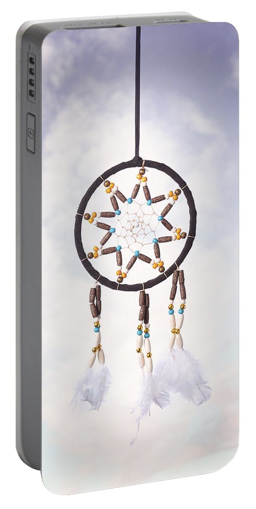 Dream Portable Battery Charger featuring the photograph Dream Catcher by Amanda Elwell