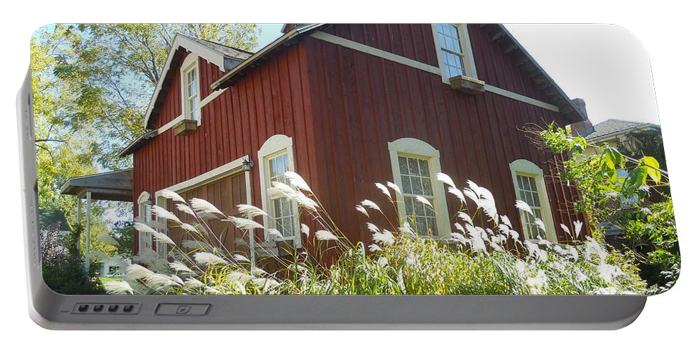 Buildings Portable Battery Charger featuring the photograph Dream Garage by Coleen Harty