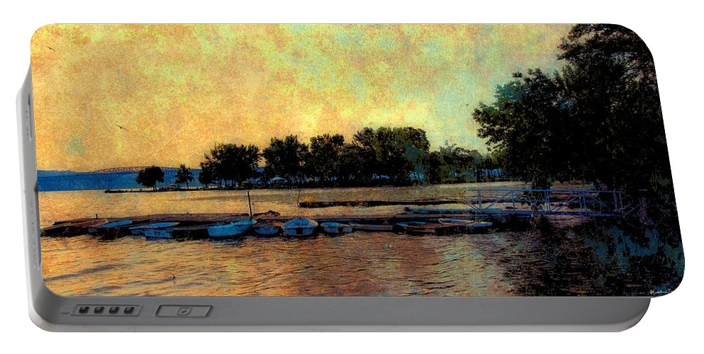 Boats Portable Battery Charger featuring the photograph Dream by Madeline Ellis