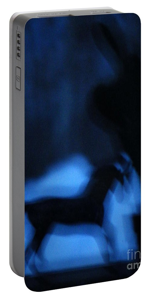 Dream Portable Battery Charger featuring the photograph Dream Rider In The Dawn by Brian Boyle