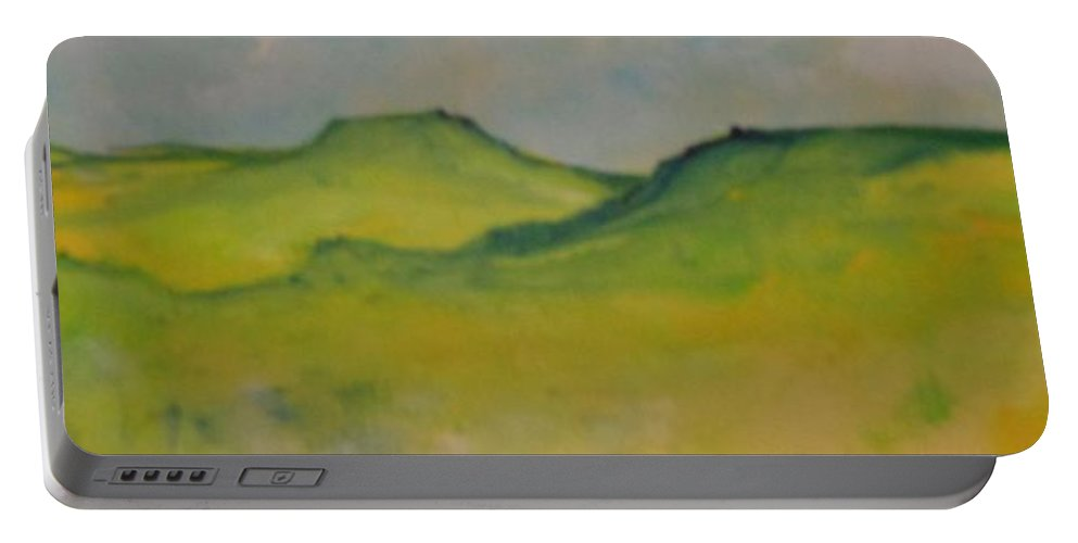 Abstract Portable Battery Charger featuring the painting Dreams by Lord Frederick Lyle Morris - Disabled Veteran