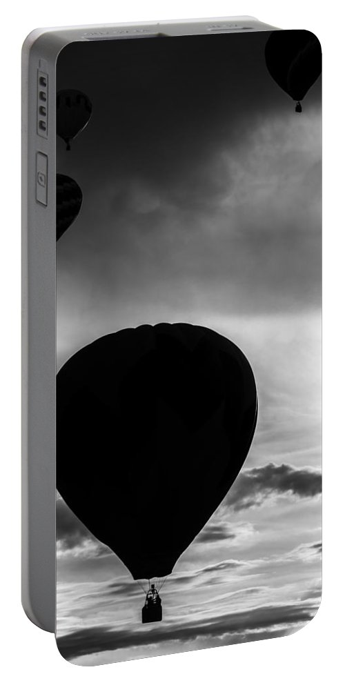Hot Portable Battery Charger featuring the photograph Drifting Silhouette by Colleen Coccia