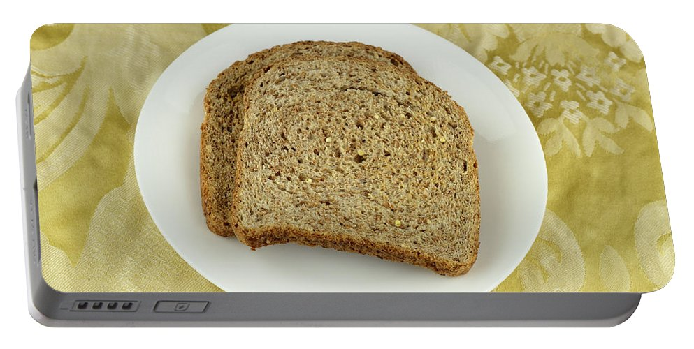 Dry Portable Battery Charger featuring the photograph Dry Toast by Lee Serenethos