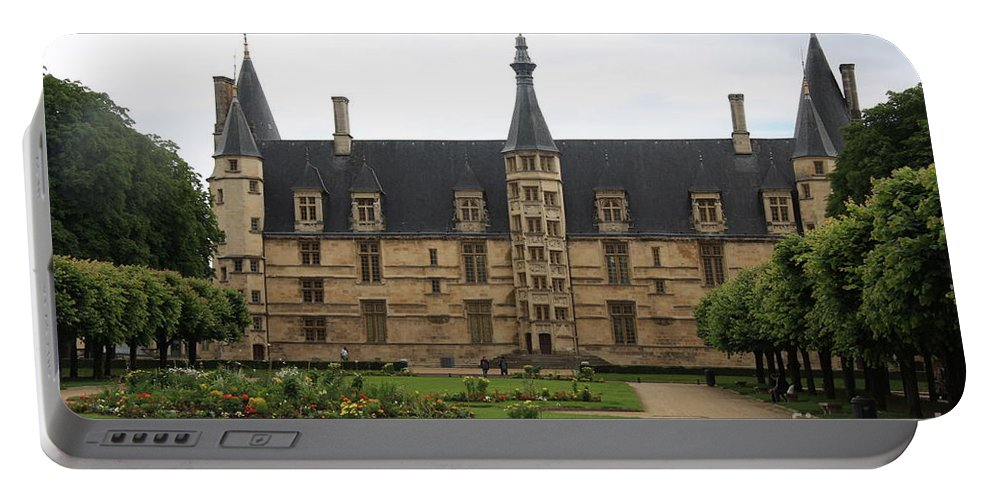 Palace Portable Battery Charger featuring the photograph Ducal Palace Nevers by Christiane Schulze Art And Photography