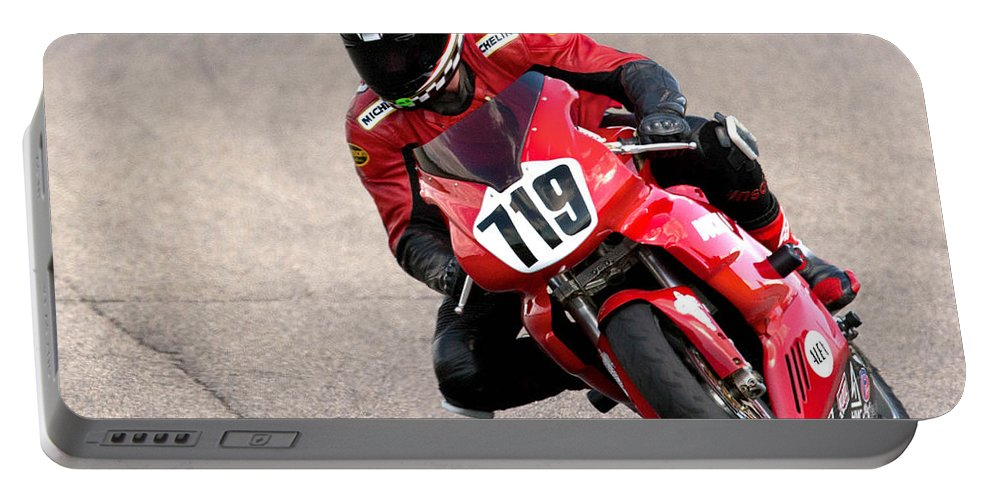 Ducati Portable Battery Charger featuring the photograph Ducati No. 719 by Jerry Fornarotto