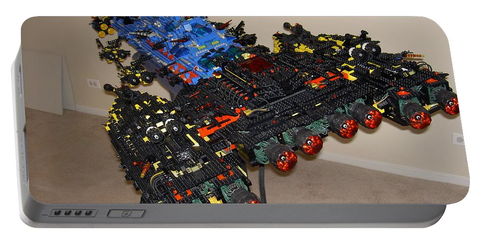 Legos Portable Battery Charger featuring the photograph Dynonochus Stern 3 by Zac AlleyWalker Lowing