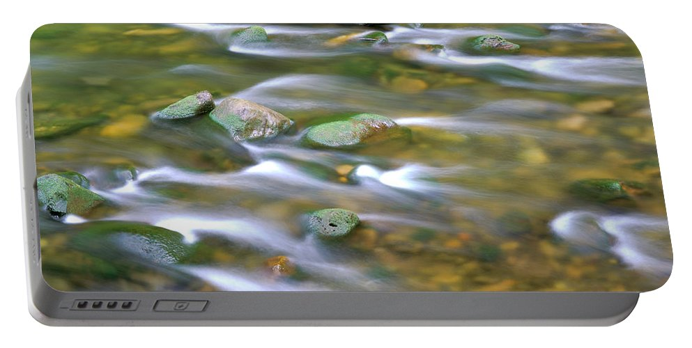 Eagle Creek Portable Battery Charger featuring the photograph Eagle Creek Oregon by Ed Riche