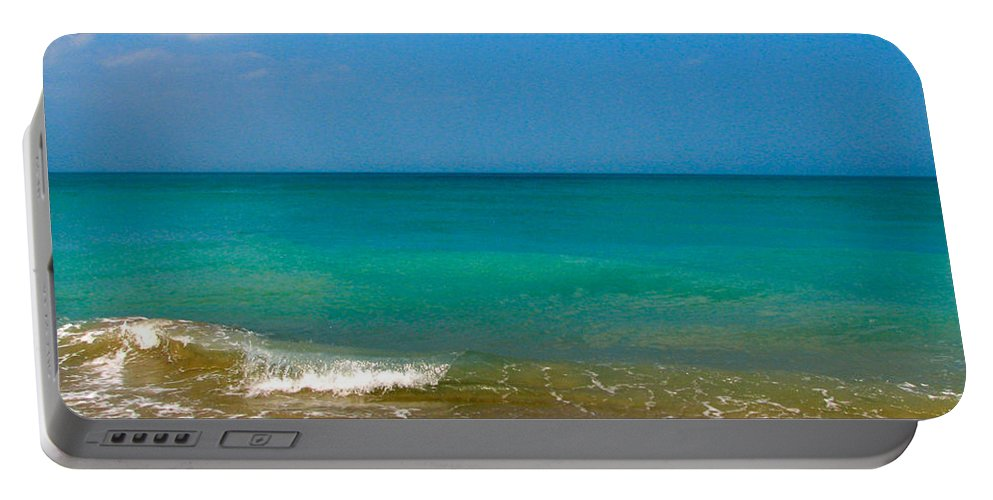 Shoreline Portable Battery Charger featuring the photograph Eastern Shore 2 by Anita Lewis
