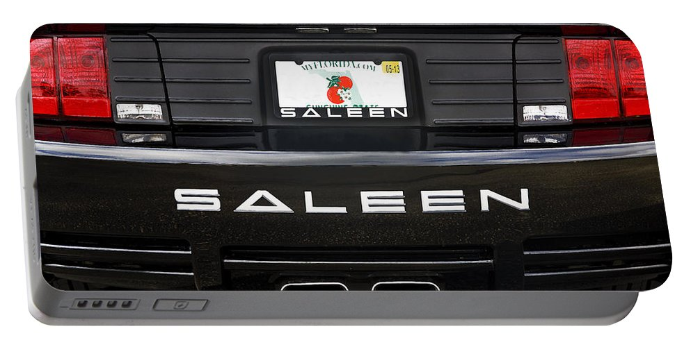 Mustang Portable Battery Charger featuring the photograph Easy Saleen by Rich Franco