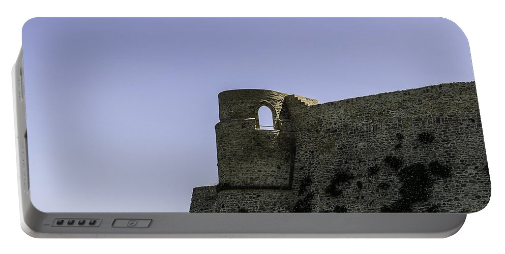 Castle Portable Battery Charger featuring the photograph Echoes Of War by Andrea Mazzocchetti