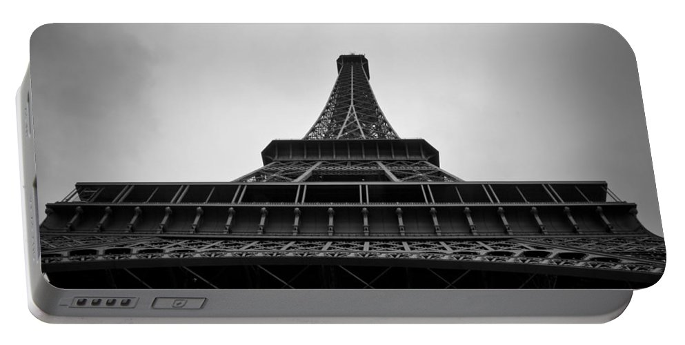 Eiffel Tower Portable Battery Charger featuring the photograph Eiffel Tower by Brian Kamprath
