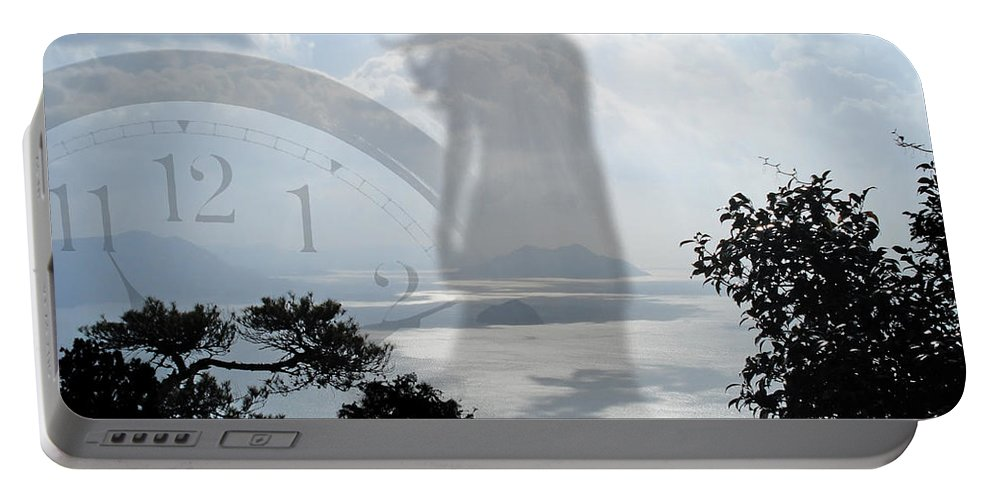 Fine Art Portable Battery Charger featuring the digital art Eleven Eleven by Torie Tiffany