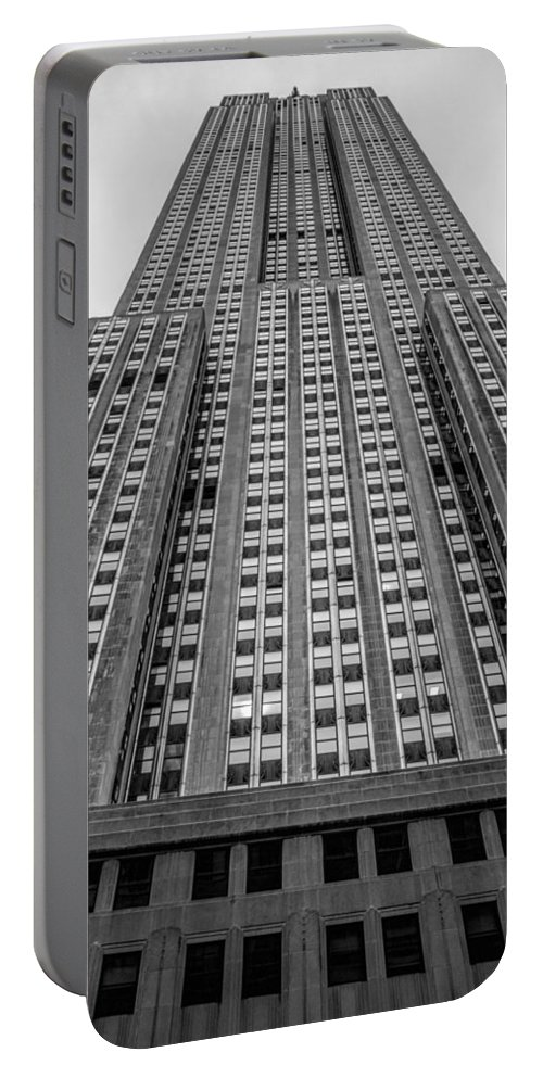 Empire State Building Portable Battery Charger featuring the photograph Empire State Of Mind by Jonathan Davison