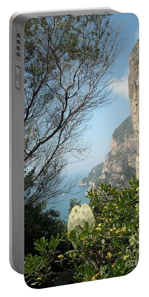 Positano Portable Battery Charger featuring the photograph Enclave Of Excellence by Lisa Kilby