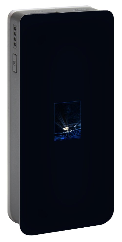 Play With Light Portable Battery Charger featuring the photograph End Of Day by Gina Bonelli