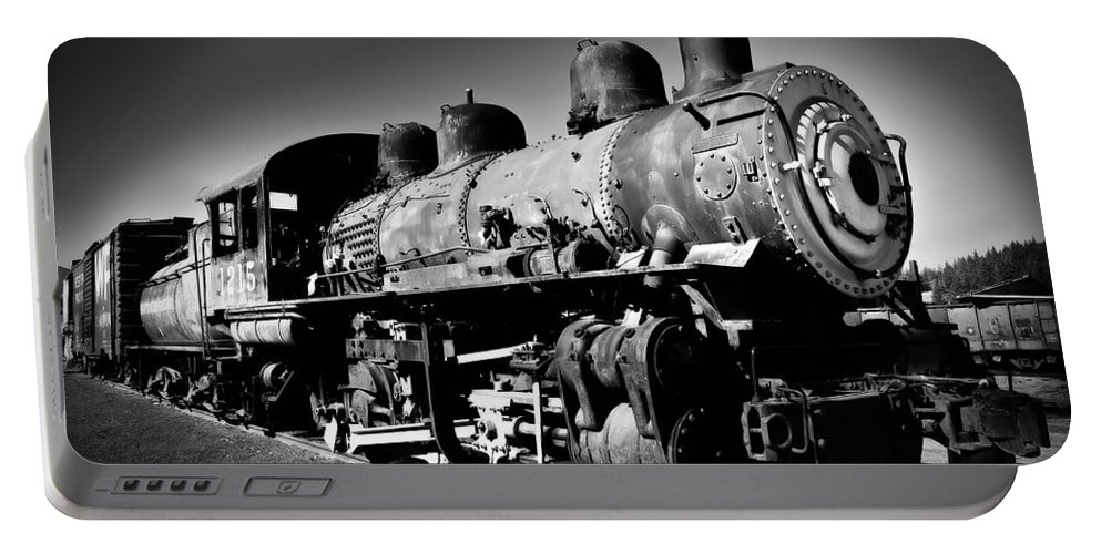 Train Portable Battery Charger featuring the photograph Engine 1215 by Mick Burkey