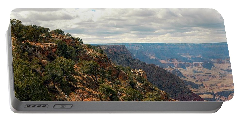 Grand Portable Battery Charger featuring the photograph Environment Of The Canyon by Kathleen Struckle