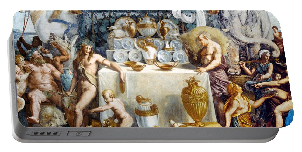 1534 Portable Battery Charger featuring the photograph Eros And Psyche by Granger