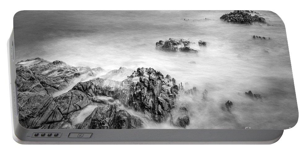Estacas Portable Battery Charger featuring the photograph Estacas Beach Galicia Spain by Pablo Avanzini