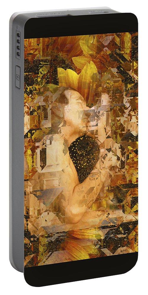 Nude Portable Battery Charger featuring the photograph Eternally Yours by Kurt Van Wagner
