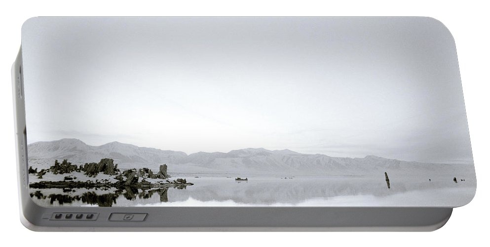 Inspiration Portable Battery Charger featuring the photograph Ethereal Mono Lake by Shaun Higson