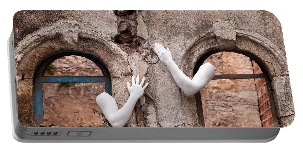 Turkish Portable Battery Charger featuring the photograph Every Hand Goes Searching For Its Partner 02 by Rick Piper Photography