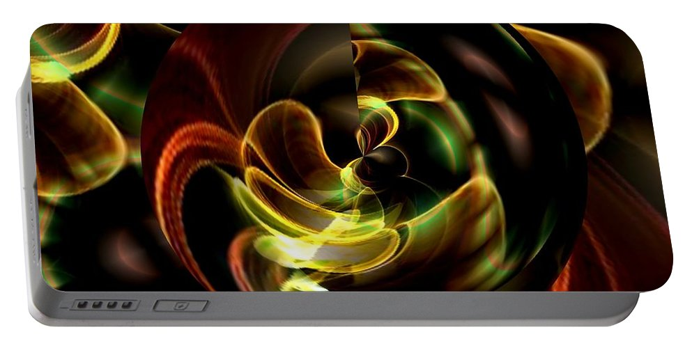 Evolve Portable Battery Charger featuring the digital art Evolve by Maria Urso