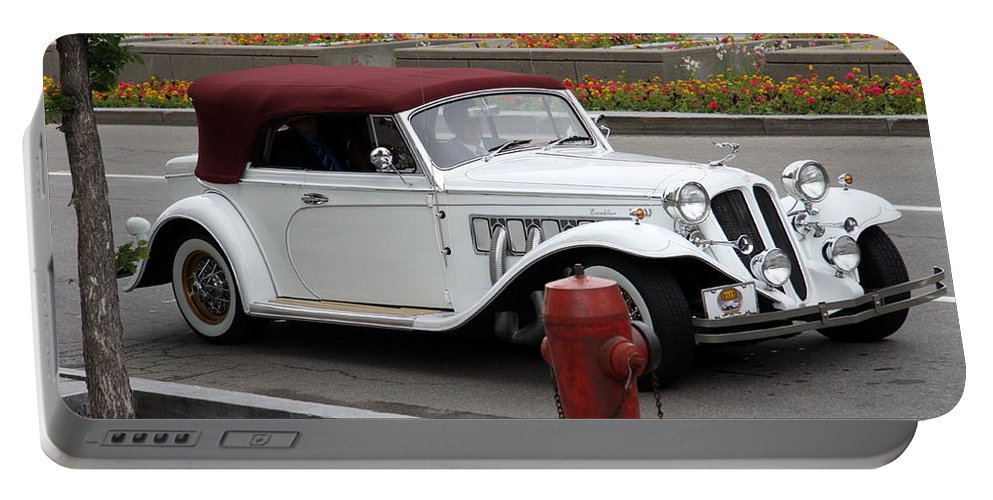 Excalibur Automobile Portable Battery Charger featuring the photograph Excalibur by Christiane Schulze Art And Photography