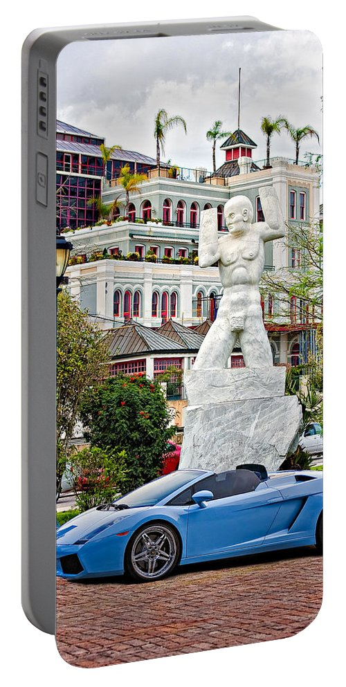Mississippi River Portable Battery Charger featuring the photograph Exotic New Orleans by Steve Harrington