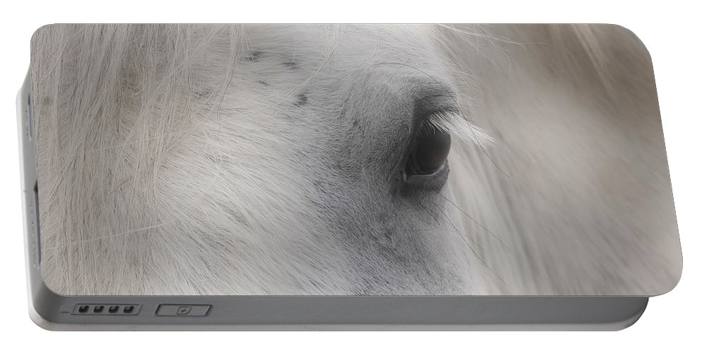 Horse Portable Battery Charger featuring the photograph Eye Of Beauty by Smilin Eyes Treasures