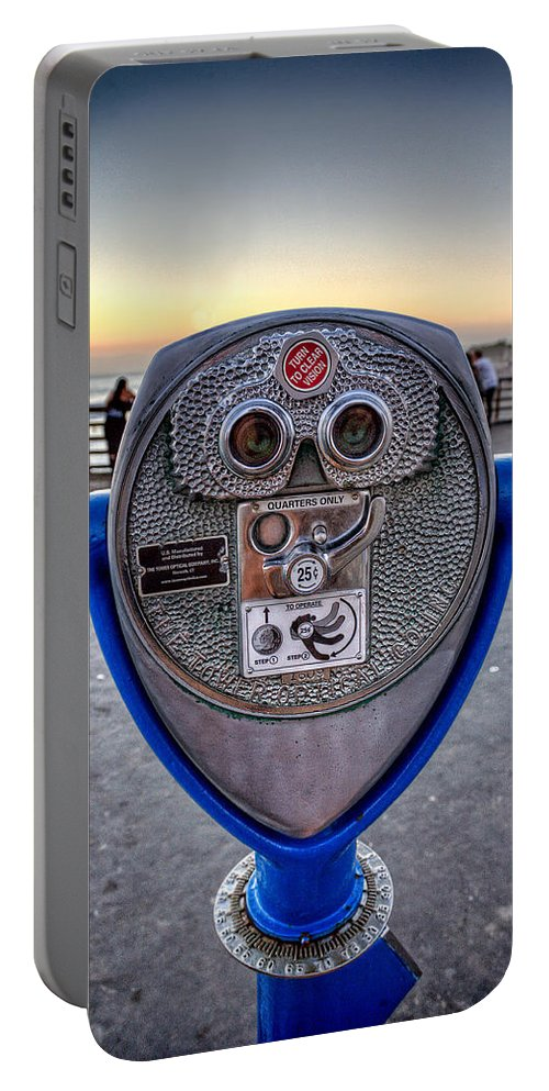 California Portable Battery Charger featuring the photograph Eye See You by Peter Tellone