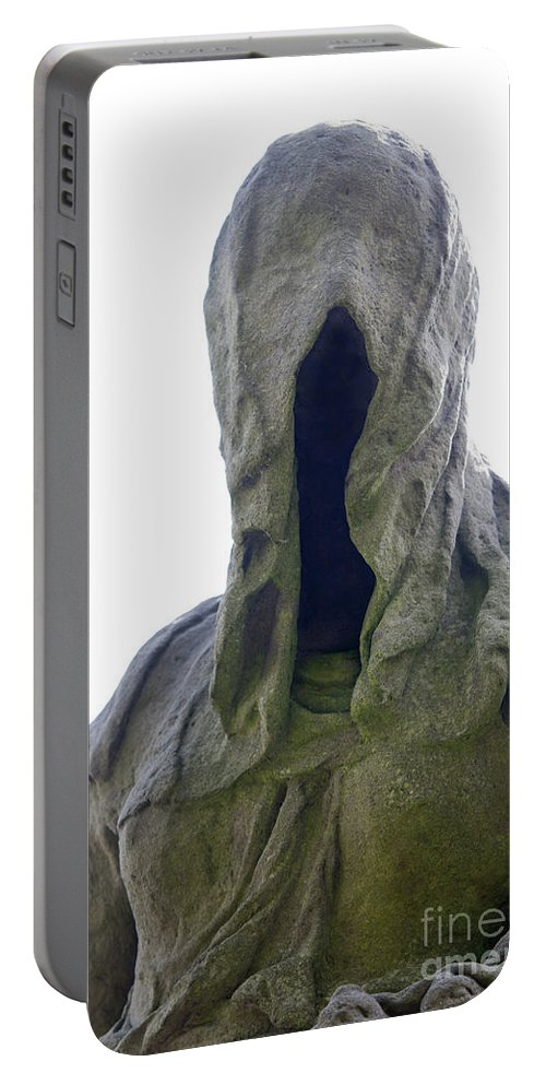 Faceless Portable Battery Charger featuring the photograph Faceless by Michal Boubin