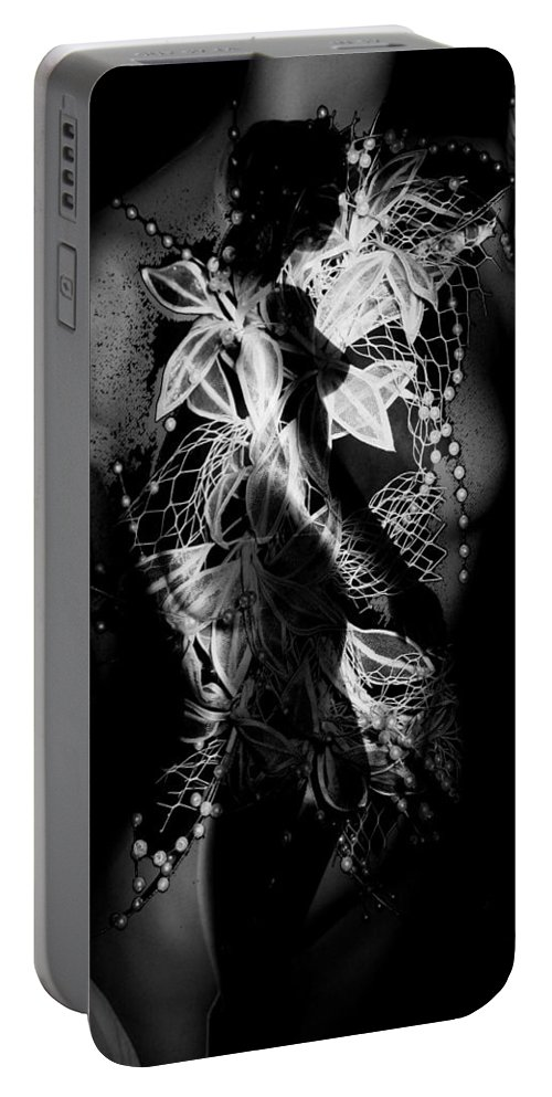 Faces Portable Battery Charger featuring the photograph Facing The Voices by The Artist Project
