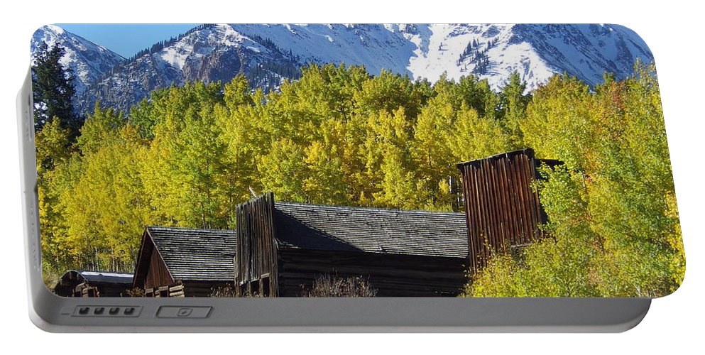 Ashcroft Portable Battery Charger featuring the photograph Fall At Ashcroft by Tonya Hance