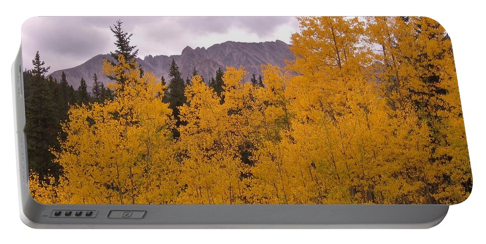 Maroon Bells Portable Battery Charger featuring the photograph Fall In Maroon Bells by Tonya Hance