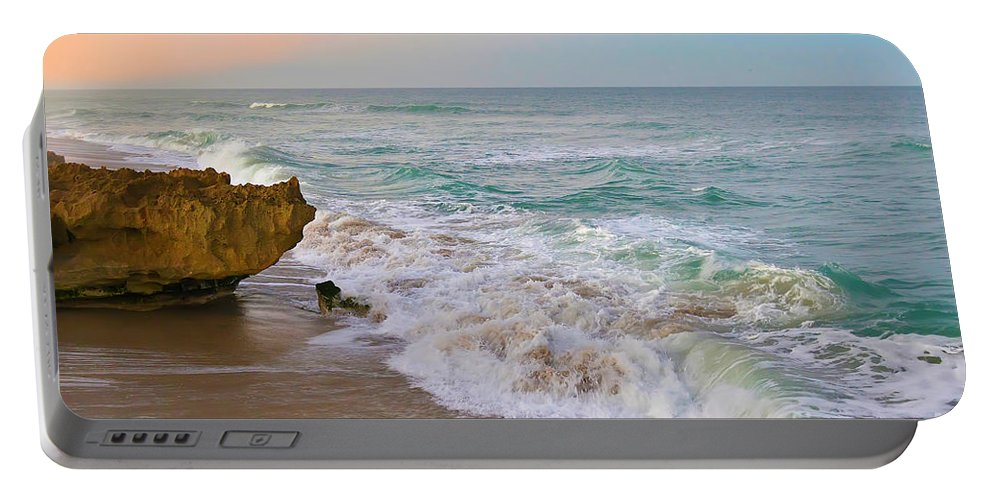 Hutchinson Island Portable Battery Charger featuring the photograph Falling In Love by Olga Hamilton