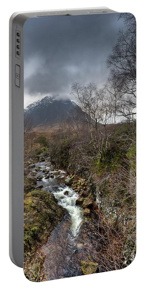 River Coupall Portable Battery Charger featuring the photograph Falls On The River Coupall by Gary Eason