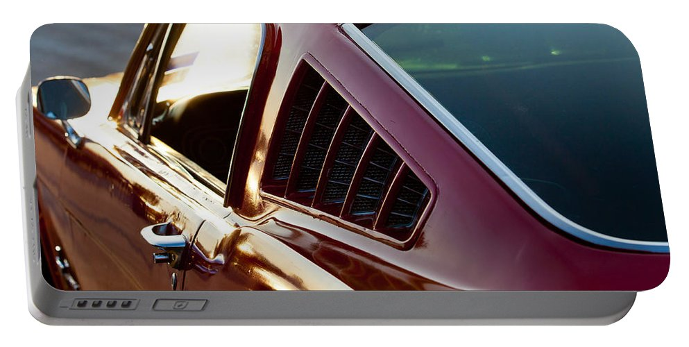 Ford Portable Battery Charger featuring the photograph Fastback by Melinda Ledsome