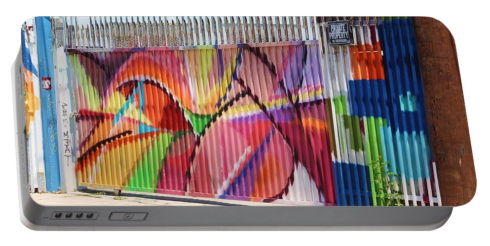 Art Portable Battery Charger featuring the photograph Fenced by Chuck Hicks