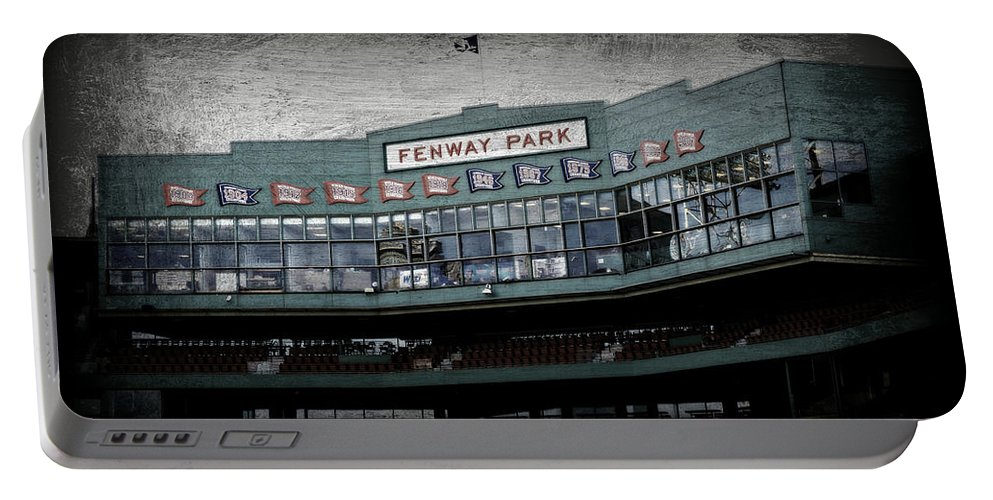 Fenway Park Portable Battery Charger featuring the photograph Fenway Memories - 1 by Stephen Stookey