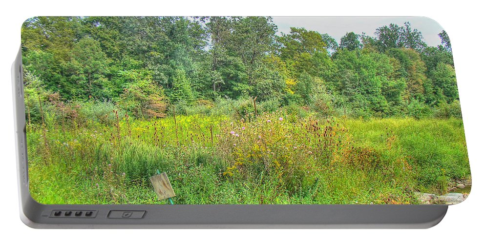 Field Portable Battery Charger featuring the photograph Field Of Dreams by Mother Nature